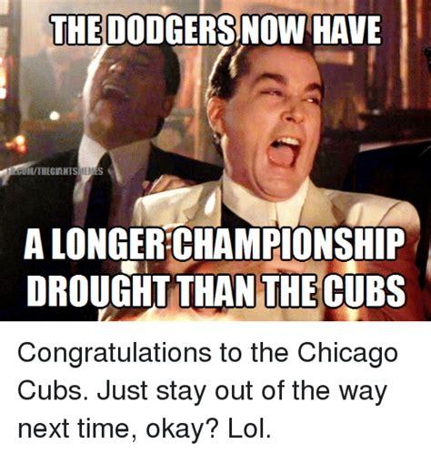 Dodgers Suck Meme - 25 best memes about chicago cubs chicago cubs memes