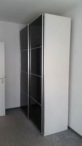 Ikea Kleiderschrank Schiebetueren : ikea pax kleiderschrank wei graues glas schiebet ren ~ Lizthompson.info Haus und Dekorationen