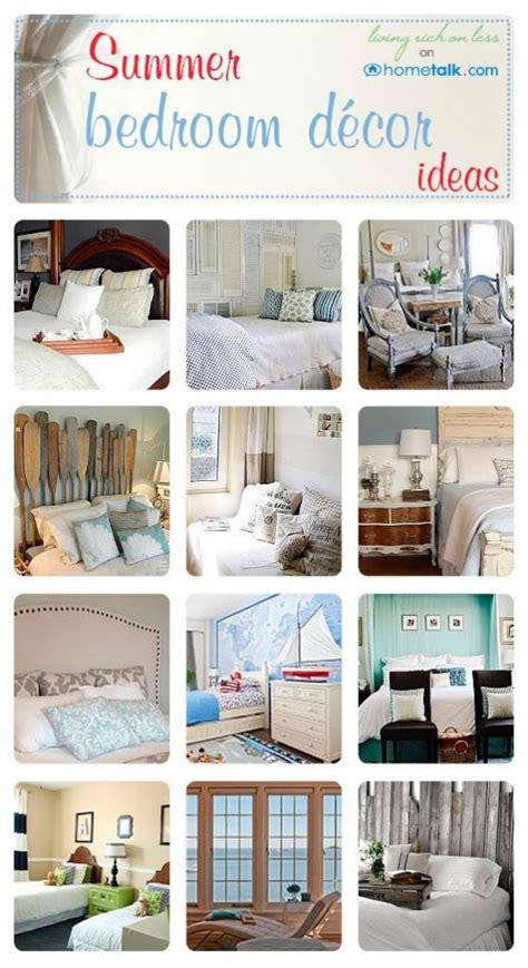 summer room decor summer bedroom decor ideas living rich on lessliving rich on less