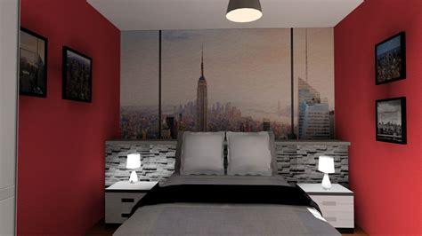 deco york chambre chambre en 3d thème york