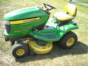 2006 John Deere X300 Lawn  U0026 Garden And Commercial Mowing