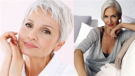 2018 Short Haircuts For Older Women Over 60