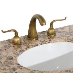 Antique Bathroom Faucets Fixtures by Heritage 1 Widespread Bathroom Faucet Antique Brass