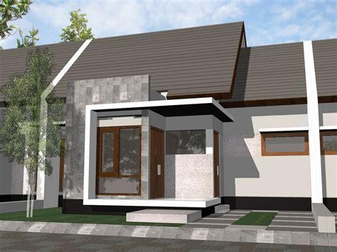 rumah minimalis satu lantai  modern renovasi rumahnet