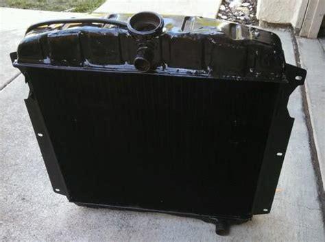 find   chevy gmc truck original radiator recored