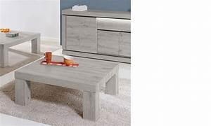 Table Basse Chene Gris : table basse carr e contemporaine couleur ch ne gris pasadena ~ Teatrodelosmanantiales.com Idées de Décoration