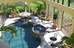 amenagement paysager autour d une terrasse cheap cration With good jardin autour d une piscine 12 maison contemporaine dompierre sur mer