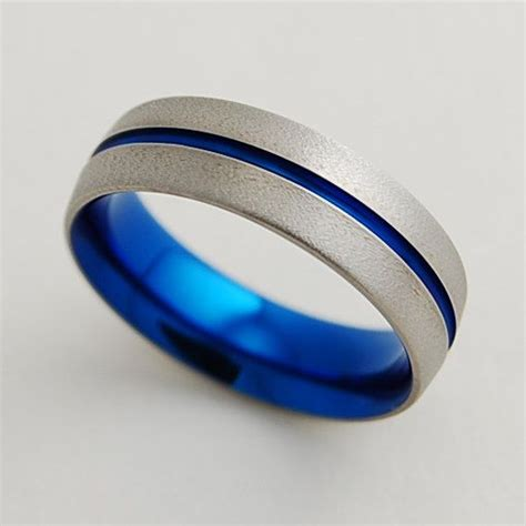 mens wedding band titanium ring the band with comfort fit titanium rings wedding
