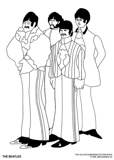 beatles coloring pages google search coloring