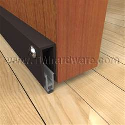 home hardware doors interior high quality automatic door bottom for residential use