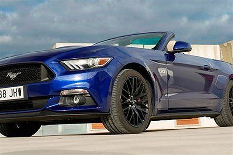 2015 Mustang Gt 0 To 60 by Prueba Ford Mustang Gt Cabrio 5 0 V8 2015