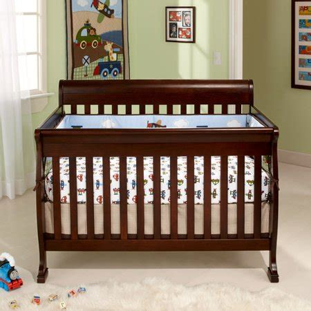 baby crib walmart baby mod cadence 4 in 1 convertible crib espresso