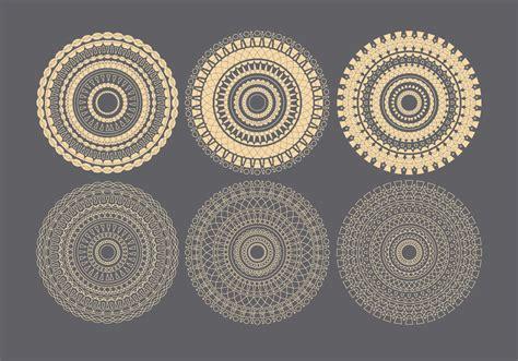 vector decorative circles   vectors clipart