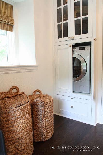 closet washer and dryer transitional closet m e
