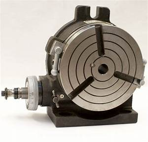 Vertex Hv  Vertical Rotary Table With