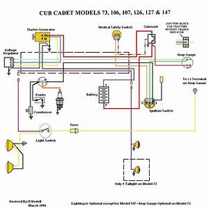 Ih Cub Cadet Forum  Wiring On 127