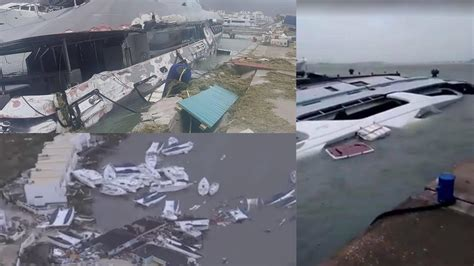 Hurricane Irma Boats Destroyed by Yachts Destroyed By Hurricane Irma Superyacht News