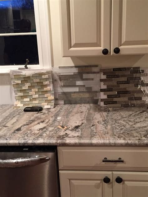 Help in choosing a backsplash please?