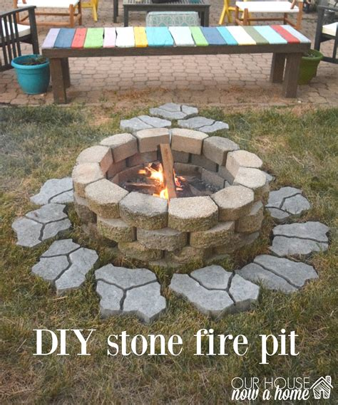 diy outdoor pit diy pit for the backyard our house now a home