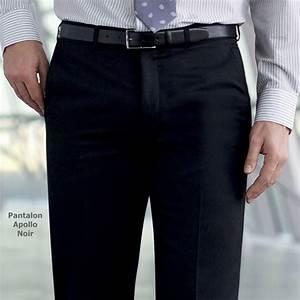 Pantalon A Pince Homme : pantalon homme coupe ajust e sans pinces polyester et ~ Melissatoandfro.com Idées de Décoration