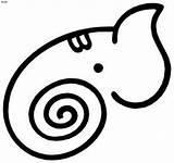 Hatchet Coloring Outline Pages Elephant Cliparts Clipart Outlines Clip God Hindu Line Library Vinyl sketch template