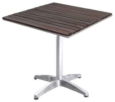 outdoor furniture wooden patio table contemporary outdoor