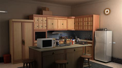 kitchen design models kitchen 3d model flatpyramid 1275