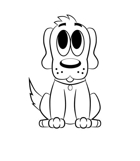 draw  cartoon dog cartoon dog cartoon dog
