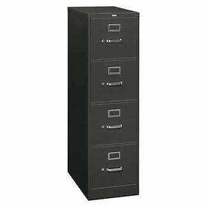 hon 310 series 4 drawer letter file 26 1 2quotd vertical charcoal With hon 310 series 2 drawer letter file
