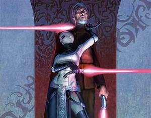 Count Dooku & Asajj Ventress VS Darth Vader & Ahsoka ...