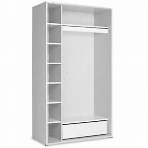 Dressing 120 Cm : armoire chambre largeur 120 cm ~ Teatrodelosmanantiales.com Idées de Décoration