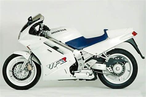 honda vfr 750 rc36 1990 interceptor decals white blue version moto sticker com