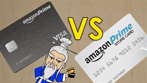 amazon card credit prime visa rewards vs