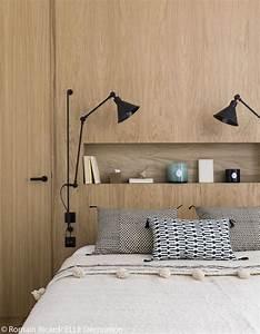 Dressing Autour Du Lit : visite en 3d d 39 un appartement malin de 40 m elle d coration bedroom chambres parentales ~ Melissatoandfro.com Idées de Décoration