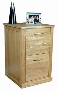Mobel Oak Two Drawer Filing Cabinet Study Furniture