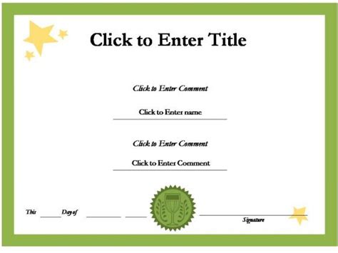 Certificate Template Powerpoint by Powerpoint Certificate Template Http Webdesign14