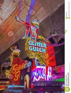 Las Vegas , Glitter Gulch Editorial Stock Photo - Image ...