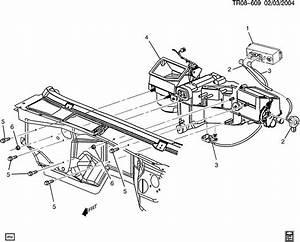 Chevrolet Silverado Cable  Air Flow Control  Cable  Defr