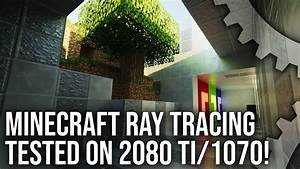 Minecraft Ray Tracing Live Play  A Path Traced Showcase