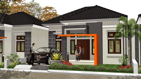 contoh gambar desain rumah minimalis type  ud aurelia