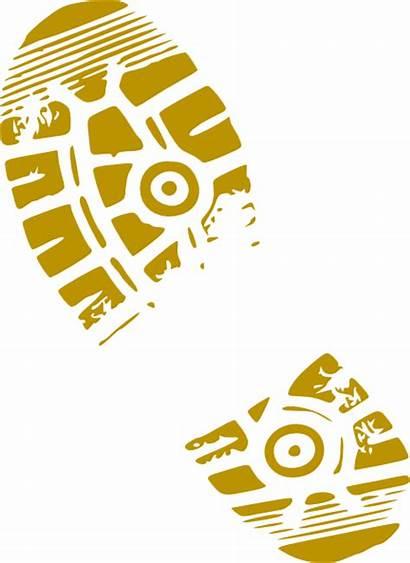 Shoe Clipart Walking Gold Flip Clip Shoes