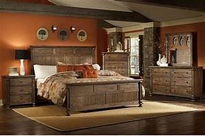 Rustic Bedroom Furniture at the galleria