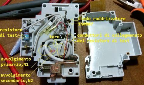 schema collegamento differenziale magnetotermico guida impianto e collegamenti elettrici forum