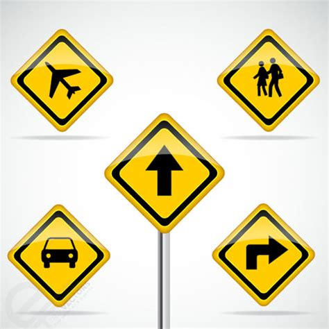 Download transparent road sign png for free on pngkey.com. Free Vector Road Signs - Free Vector Site   Download Free ...