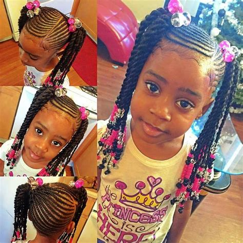 such a cute braided hairstyle for little girls fashion