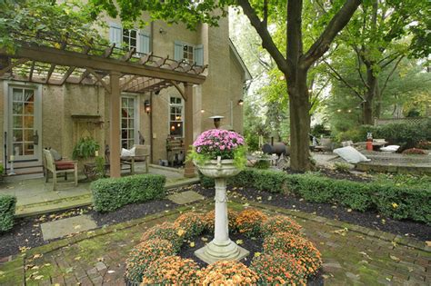 french tudor style home