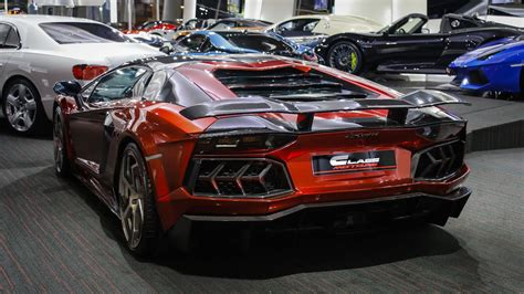 Custom Mansory Lamborghini Aventador For Sale In Dubai