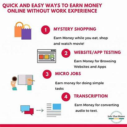 Money Easy Quick Ways Earn Experience Without