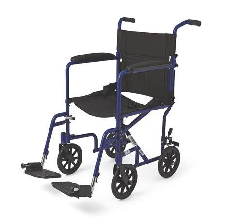 wheelchair lightweight aluminum transport chair w 8