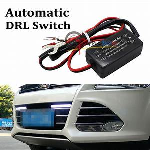 Easy Install Led Daytime Running Light Automatic On  Off